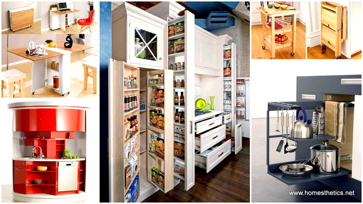 16 highly functional space saving ideas for your tiny home for Home space saving ideas