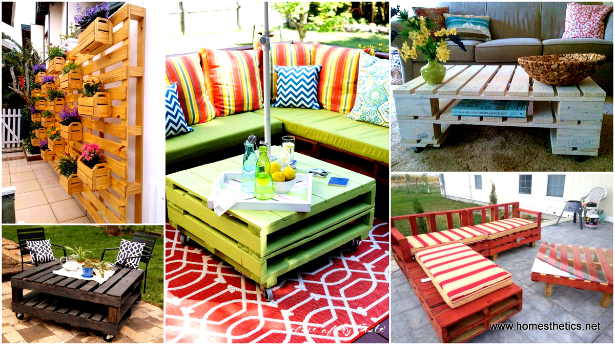 27 Of The Worlds Best Ways to Transform Old Pallets Into Outdoor Furniture - 27 Of The Worlds Best Ways To Transform Old Pallets Into Outdoor