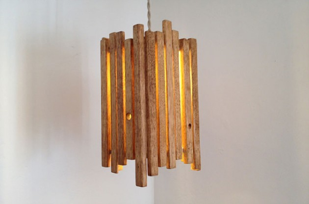 15 Breathtaking DIY Wooden Lamp Projects to Enhance Your Decor With homesthetics diy wood projects (13)