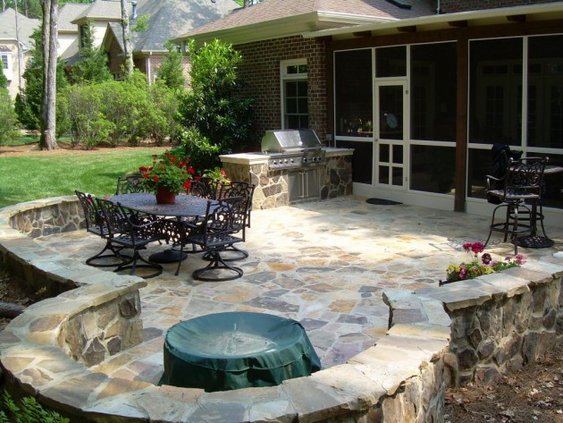 16 Extraordinary Beautiful and Relaxing Patio Designs For Your Backyard homesthetics backyard landscaping design (5)
