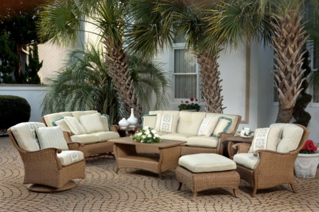 16 Extraordinary Beautiful and Relaxing Patio Designs For Your Backyard homesthetics backyard landscaping design (8)