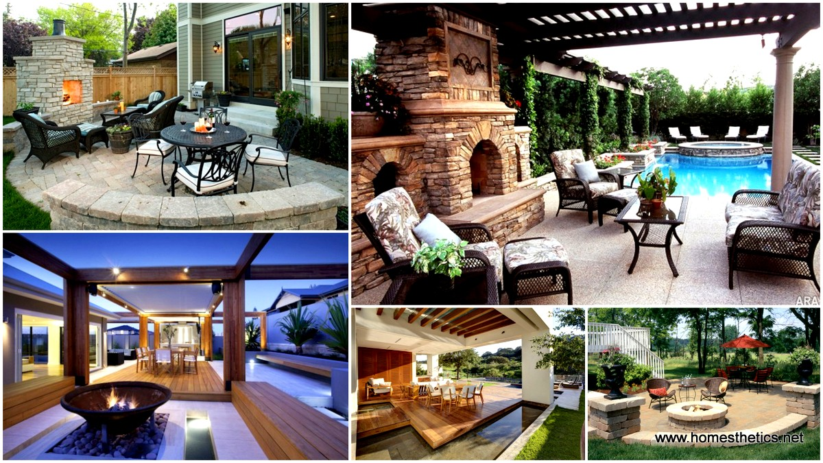16 extraordinary beautiful and relaxing patio designs for your backyard - Patio Designs
