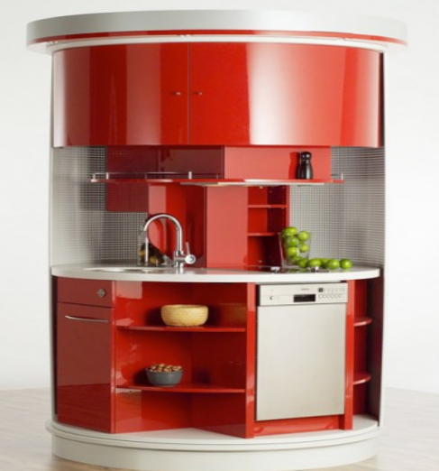 16 Highly Functional Space Saving Ideas For Your Tiny Home homesthetics small kitchen furniture (1)