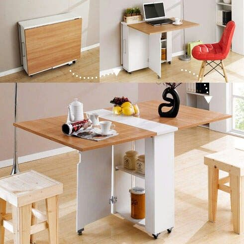 16 Highly Functional Space Saving Ideas For Your Tiny Home homesthetics small kitchen furniture (14)