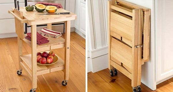 16 Highly Functional Space Saving Ideas For Your Tiny Home homesthetics small kitchen furniture (7)