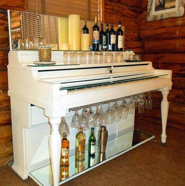 16 Small DIY Home Bar Ideas That Will Enhance Your Parties homesthetics bar diy projects (10)