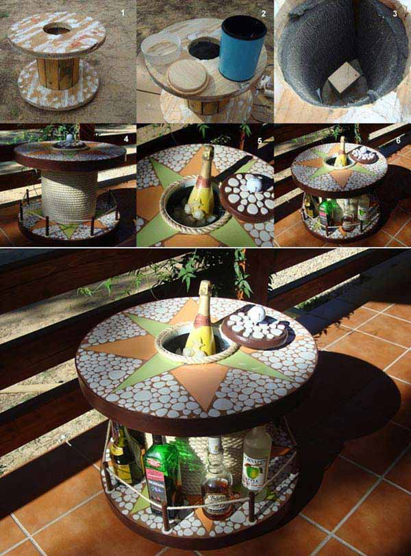 16 Small DIY Home Bar Ideas That Will Enhance Your Parties homesthetics bar diy projects (2)