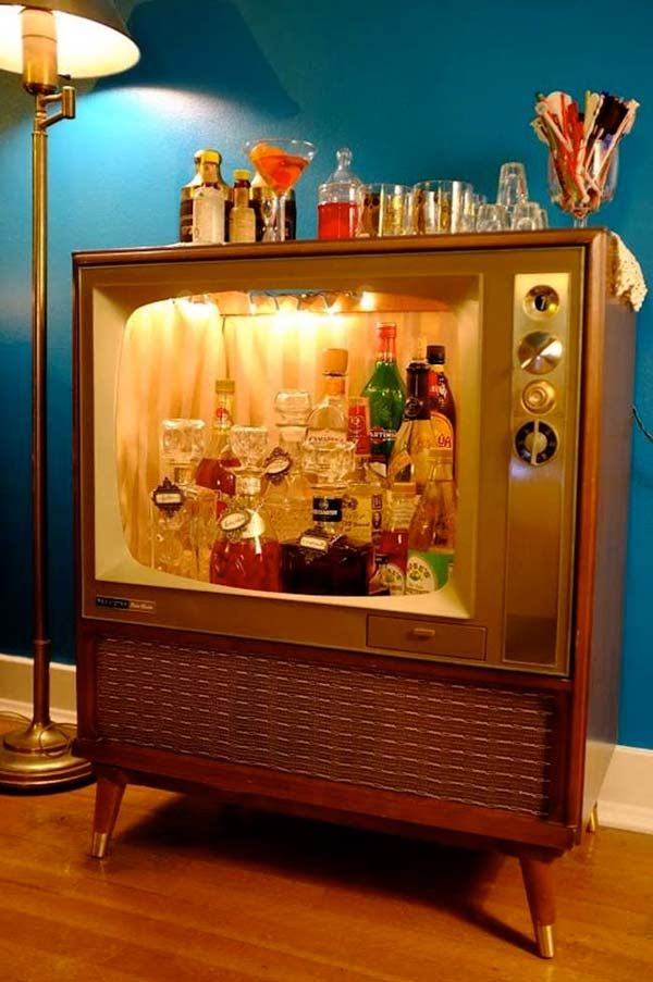 16 Small DIY Home Bar Ideas That Will Enhance Your Parties homesthetics bar diy projects (3)