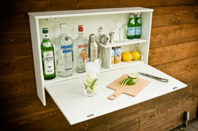 16 Small DIY Home Bar Ideas That Will Enhance Your Parties homesthetics bar diy projects (4)