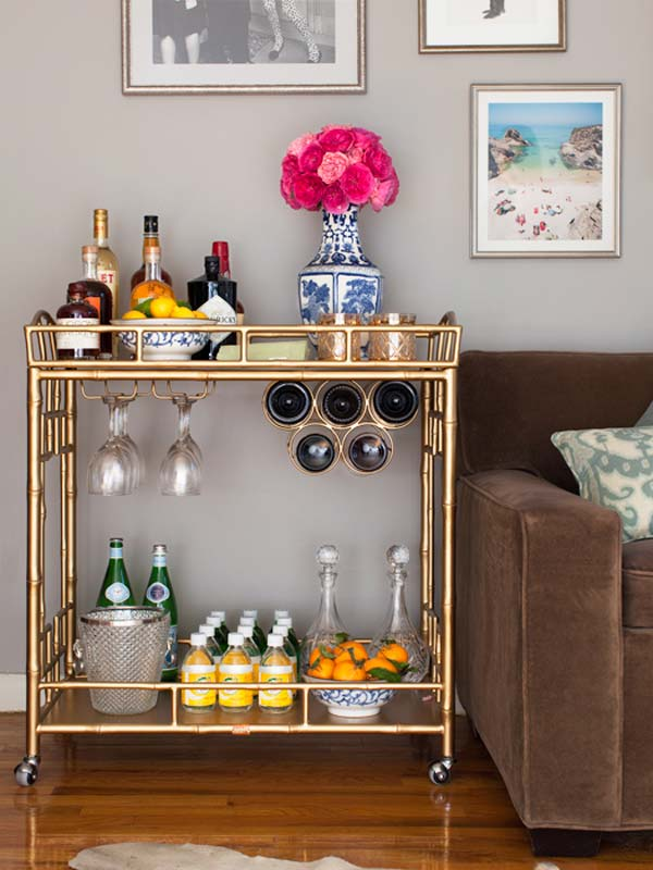 16 Small DIY Home Bar Ideas That Will Enhance Your Parties