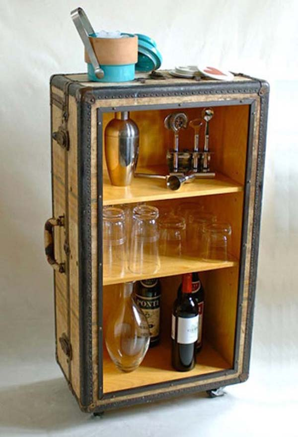 16 Small DIY Home Bar Ideas That Will Enhance Your Parties homesthetics bar diy projects (7)