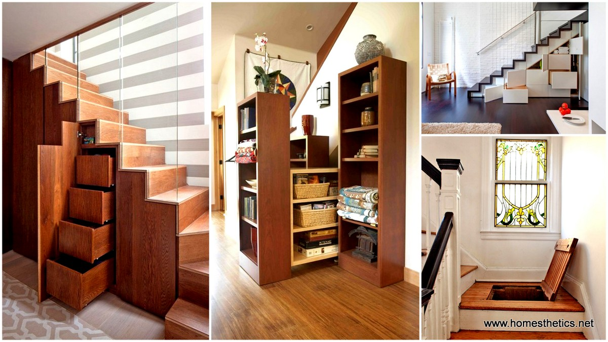 16 smart and functional hidden storage design ideas for tiny homes - Tips for living in a small space property ...