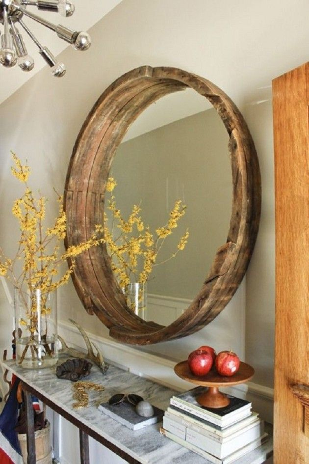 17 Spectacular DIY Mirror Design Ideas To Beautify Your Decor homesthetics diy projects (11)