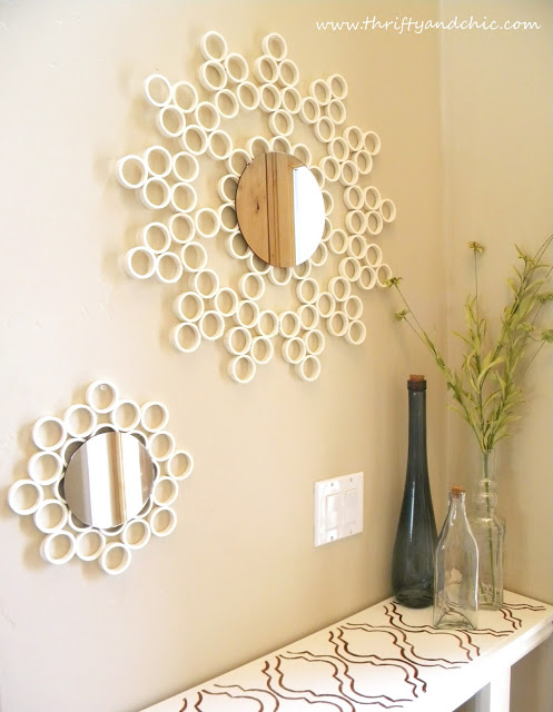 17 Spectacular DIY Mirror Design Ideas To Beautify Your Decor homesthetics diy projects (15)
