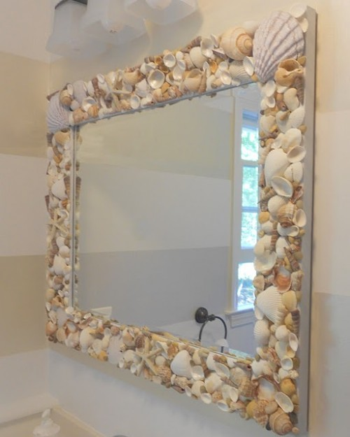17 Spectacular DIY Mirror Design Ideas To Beautify Your Decor homesthetics diy projects (16)