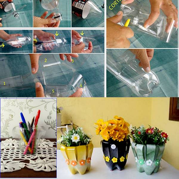 17 of The Worlds Best Tutorials On How to Reuse Plastic Bottles In Your Household plastic bottles recycling ideas homesthetics (11)