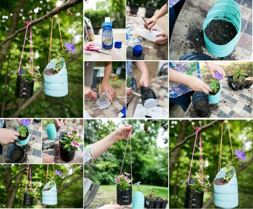 17 of The Worlds Best Tutorials On How to Reuse Plastic Bottles In Your Household plastic bottles recycling ideas homesthetics (13)