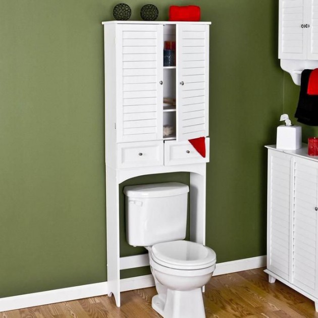 18 Smart DIY Bathroom Storage Ideas and Tricks Worth Considering homesthetics decor (4)
