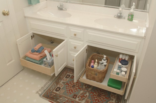 Lovely  Smart DIY Bathroom Storage Ideas and Tricks Worth Considering homesthetics decor