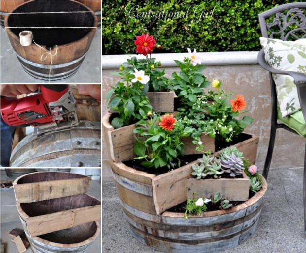 21 DIY Inspiring Ideas for Planters That Will Make Your Plants Happy homesthetics decor (16)