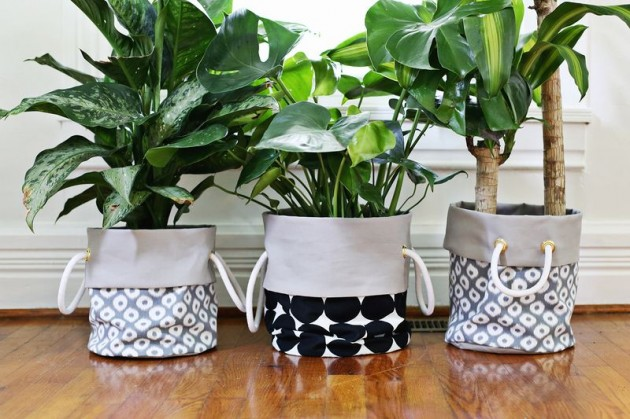 21 DIY Inspiring Ideas for Planters That Will Make Your Plants Happy homesthetics decor (4)