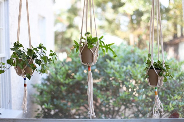 21 DIY Inspiring Ideas for Planters That Will Make Your Plants Happy homesthetics decor (5)