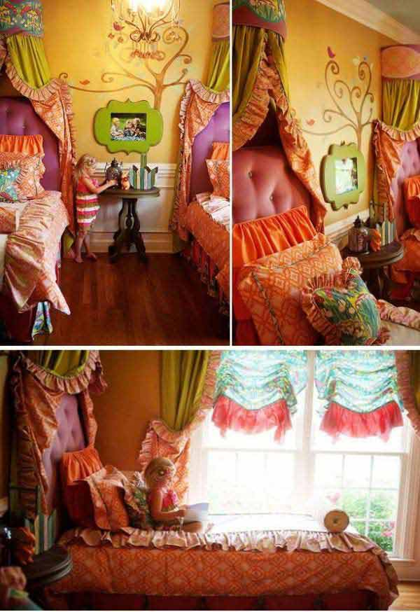 21 Mindbogglingly Beautiful Fairy Tale Bedrooms for Kids to Realize homesthetics children bedrooms decor (14)