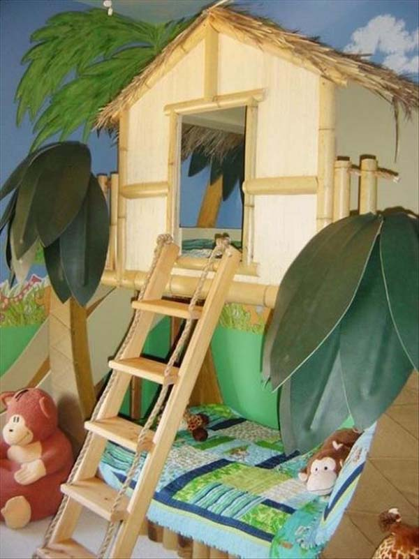 21 Mindbogglingly Beautiful Fairy Tale Bedrooms for Kids to Realize homesthetics children bedrooms decor (21)