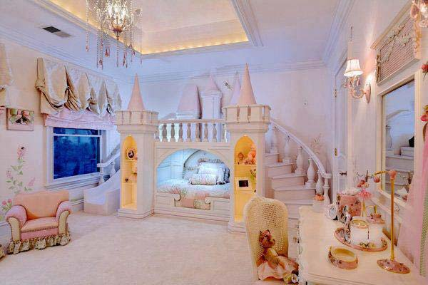 21 Mindbogglingly Beautiful Fairy Tale Bedrooms For Kids To Realize  Homesthetics Children Bedrooms Decor (3)