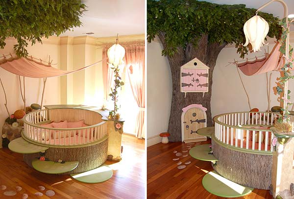 Perfect 21 Mindbogglingly Beautiful Fairy Tale Bedrooms For Kids To Realize  Homesthetics Children Bedrooms Decor (5