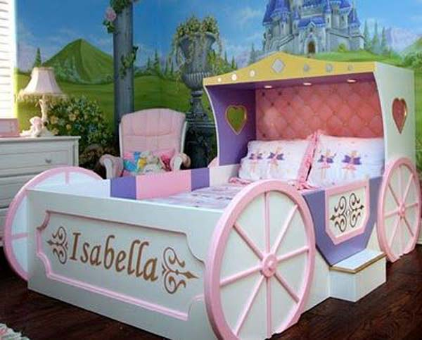 21 Mindbogglingly Beautiful Fairy Tale Bedrooms for Kids to Realize homesthetics children bedrooms decor (7)