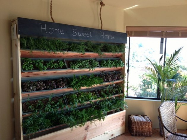 21 Simply Beautitful Diy Vertical Garden Projects That