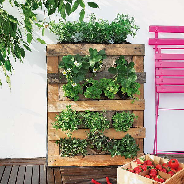 21 Simply Beautitful DIY Vertical Garden Projects That Will Transform Your Design homesthetics design (5)