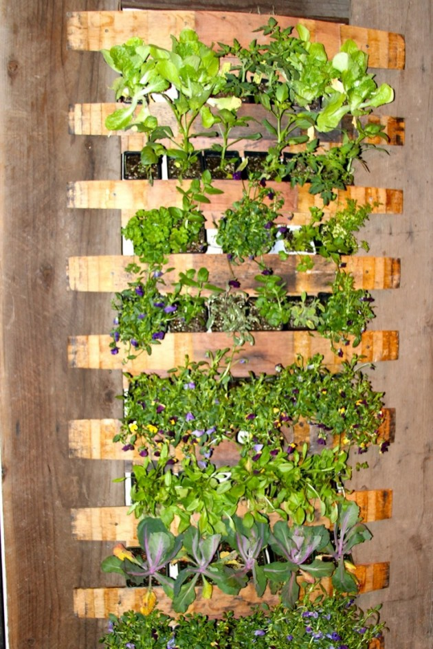21 Simply Beautitful DIY Vertical Garden Projects That Will Transform Your Design homesthetics design (6)