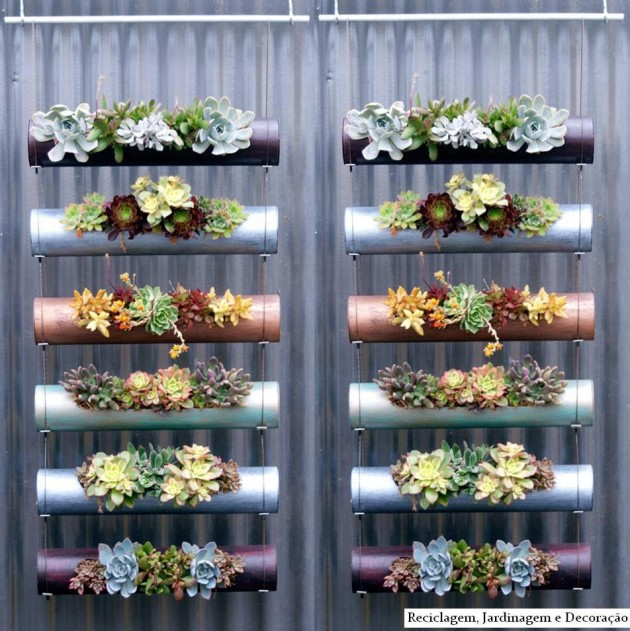 21 Simply Beautitful DIY Vertical Garden Projects That Will Transform Your Design homesthetics design (9)