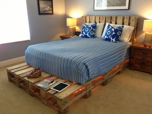 #26 OBTAIN AN INEXPENSIVE AND COZY SETUP WITH WOODEN PALLETS