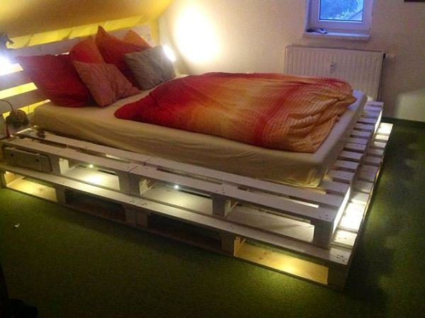 #27 LIGHT CAN ANIMATE AND EMPOWER PALLET BEDS BEAUTIFULLY