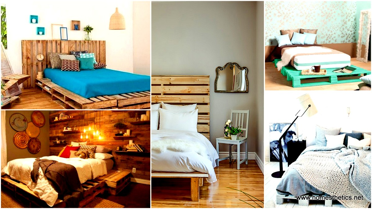 27 Ingeniously Beautiful DIY Pallet Bed Designs To Materialize ...
