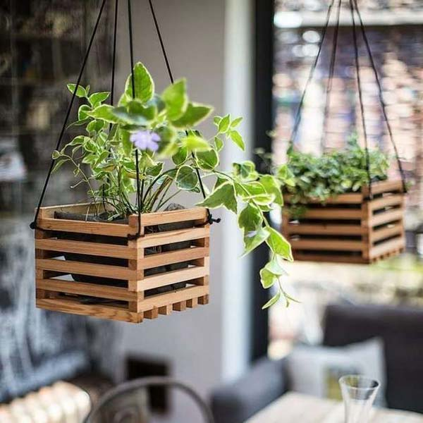 28 Ways to Accesorize Your Household With Creative DIY Hanging Planters homesthetics greenery (15)