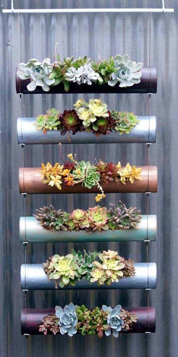 28 Ways to Accesorize Your Household With Creative DIY Hanging Planters homesthetics greenery (5)