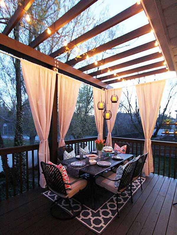 31 Creative Touches to Prepare Your Patio for Summer - homesthetics decor (24)