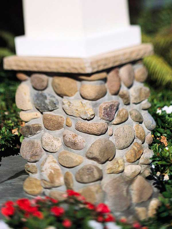 36 Examples on How to Use River Rocks in Your Decor Through DIY Projects homesthetics river rocks diy projects (32)