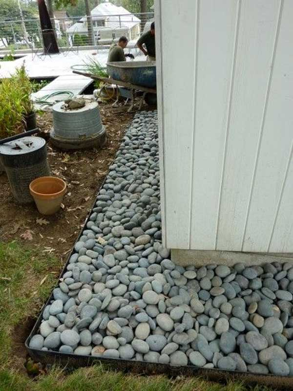 36 Examples on How to Use River Rocks in Your Decor Through DIY Projects homesthetics river rocks diy projects (8)