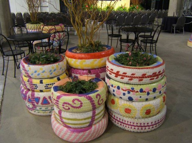 DIY Projects On How To Reuse Old Tires-homesthetics (6)
