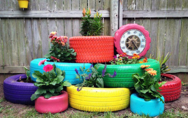 DIY Projects On How To Reuse Old Tires-homesthetics (9)