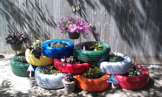 DIY Projects On How To Reuse Tires-homesthetics (16)