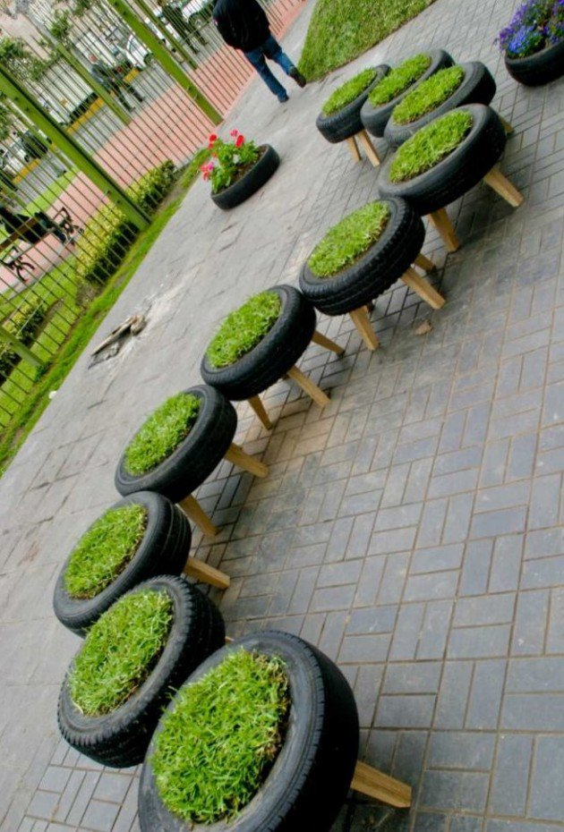 DIY Projects On How To Reuse Tires-homesthetics (21)