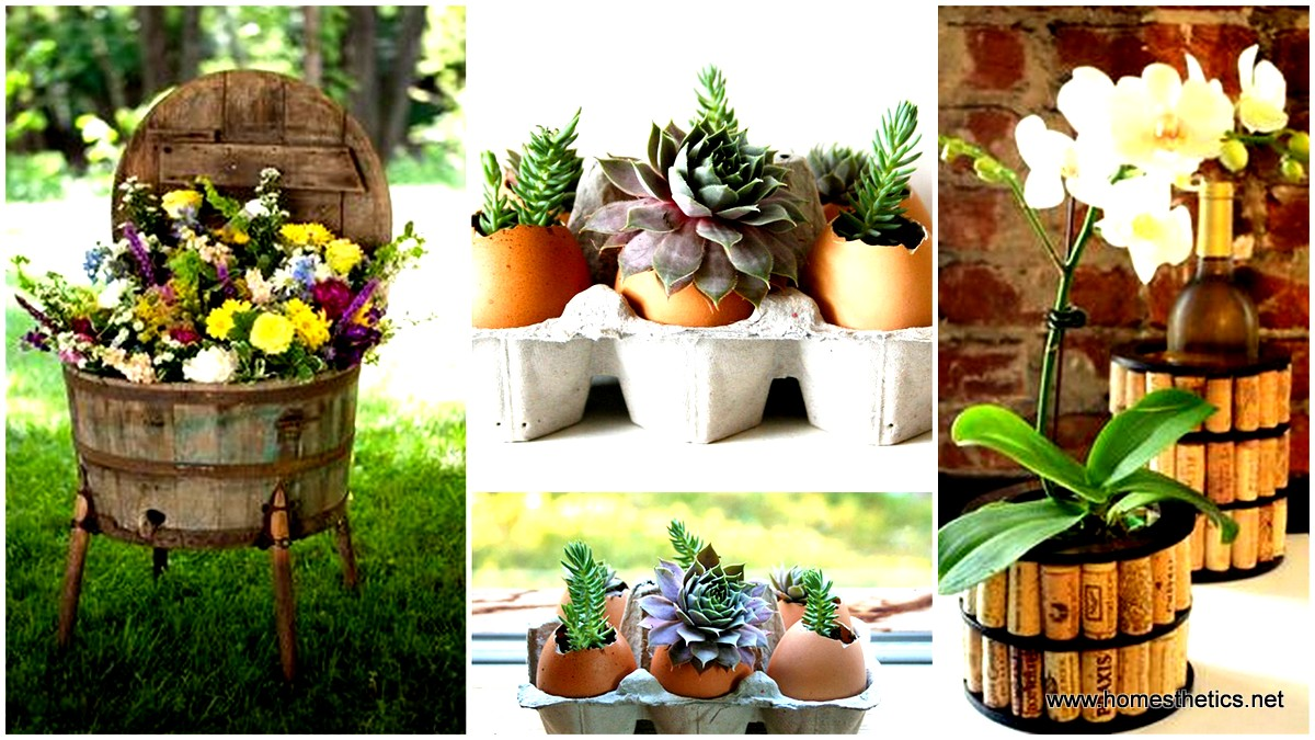 & 16 Beautiful DIY Flower Pot Ideas That Add Life To Your Home