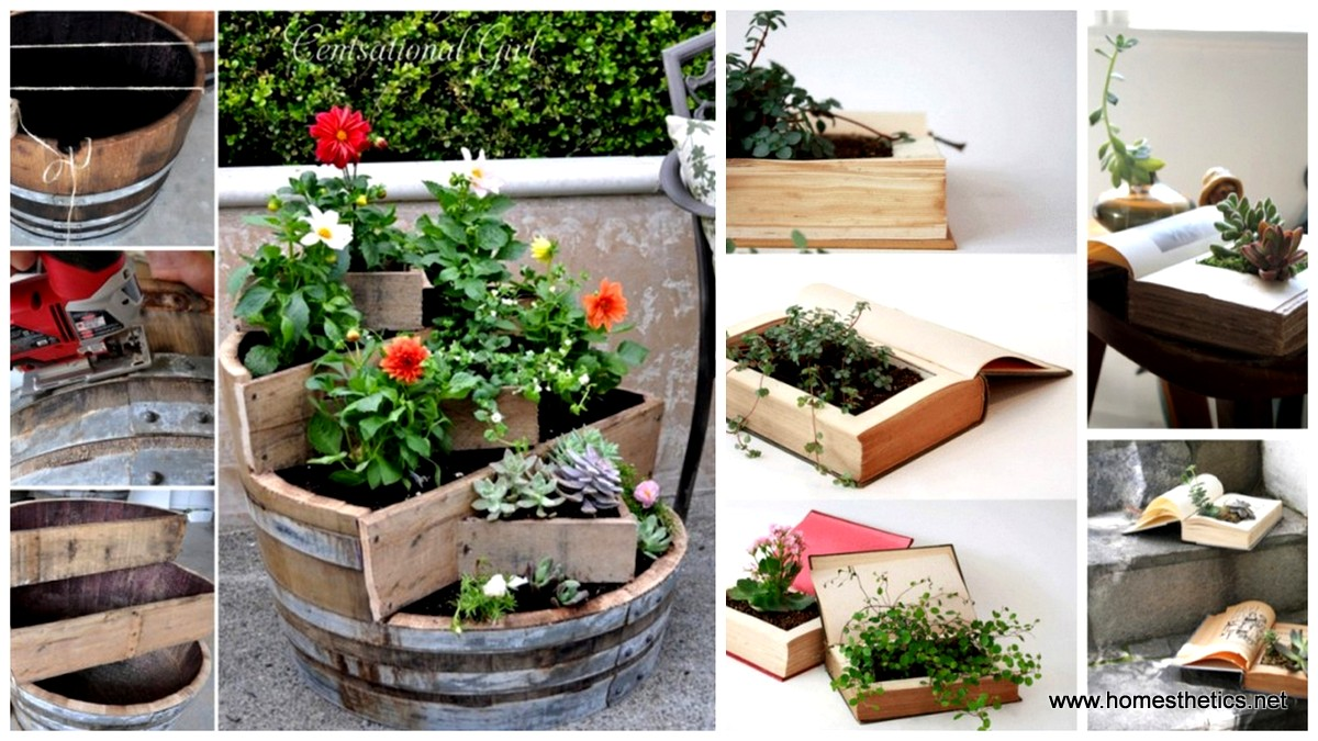 21 DIY Inspiring Ideas for Planters For Happy Plants
