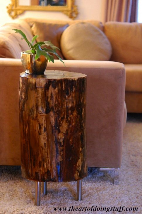 Magical DIY Tree Stump Table Ideas That Will Transform Your World homesthetics wood diy projects (11)